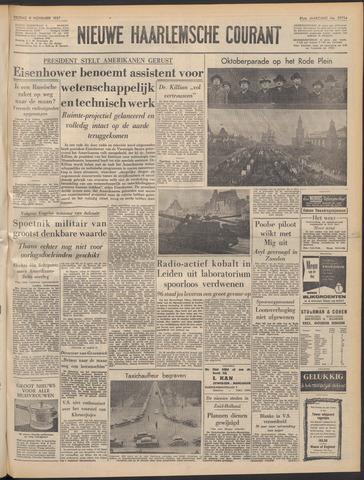 Nieuwe Haarlemsche Courant 1957-11-08