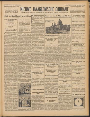 Nieuwe Haarlemsche Courant 1933-09-20