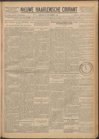 Nieuwe Haarlemsche Courant 1928-11-23