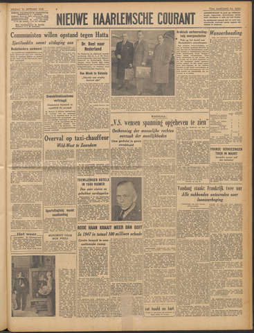 Nieuwe Haarlemsche Courant 1948-09-24