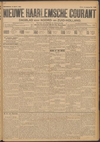 Nieuwe Haarlemsche Courant 1910-09-21