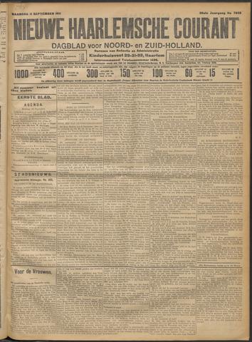 Nieuwe Haarlemsche Courant 1911-09-11