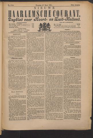Nieuwe Haarlemsche Courant 1901-03-27