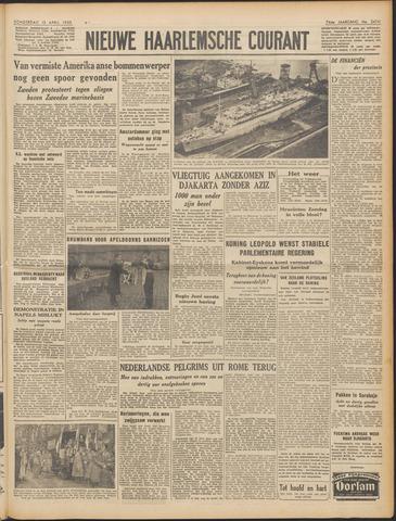 Nieuwe Haarlemsche Courant 1950-04-13