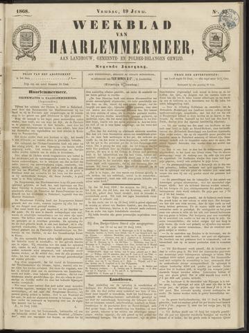 Weekblad van Haarlemmermeer 1868-06-19