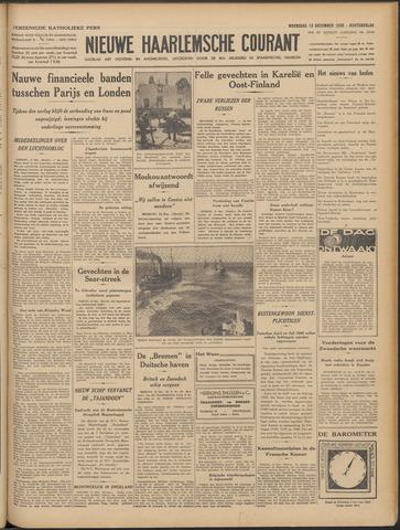 Nieuwe Haarlemsche Courant 1939-12-13