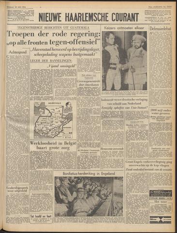 Nieuwe Haarlemsche Courant 1954-06-22