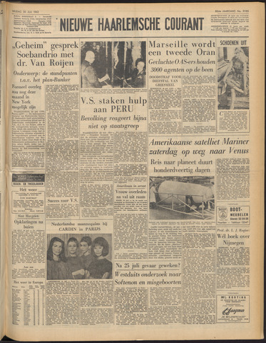 Nieuwe Haarlemsche Courant 1962-07-20