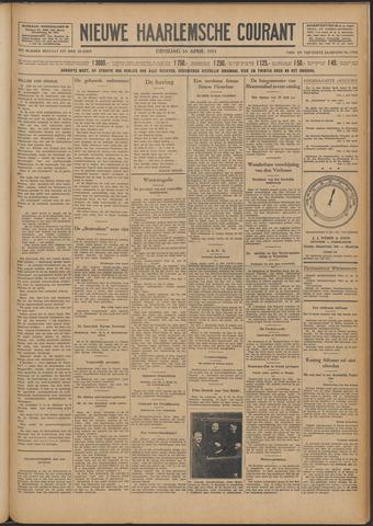 Nieuwe Haarlemsche Courant 1931-04-14
