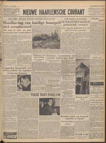 Nieuwe Haarlemsche Courant 1952-06-14