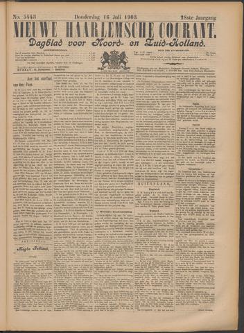 Nieuwe Haarlemsche Courant 1903-07-16