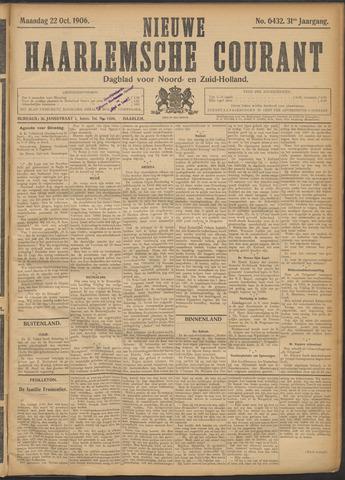 Nieuwe Haarlemsche Courant 1906-10-22