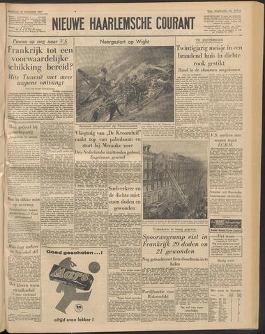 Nieuwe Haarlemsche Courant 1957-11-18