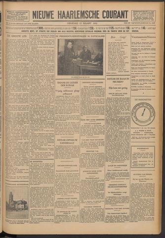 Nieuwe Haarlemsche Courant 1932-03-15