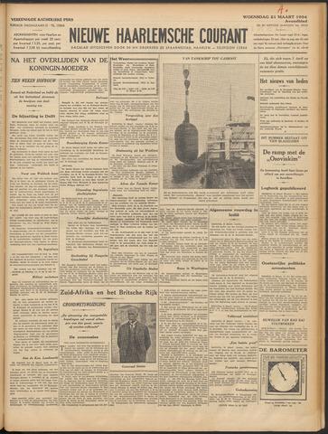 Nieuwe Haarlemsche Courant 1934-03-21