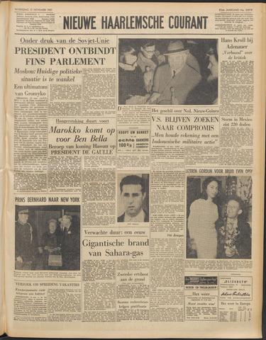 Nieuwe Haarlemsche Courant 1961-11-15
