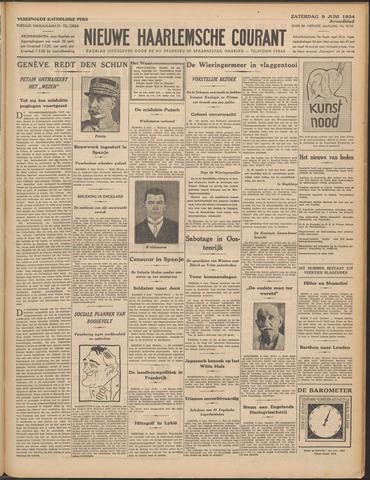 Nieuwe Haarlemsche Courant 1934-06-09