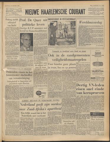 Nieuwe Haarlemsche Courant 1962-10-20