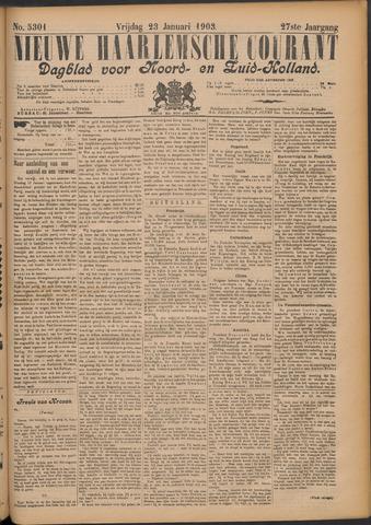 Nieuwe Haarlemsche Courant 1903-01-23