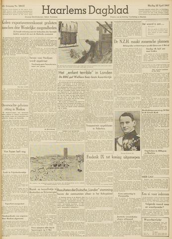 Haarlem's Dagblad 1947-04-22