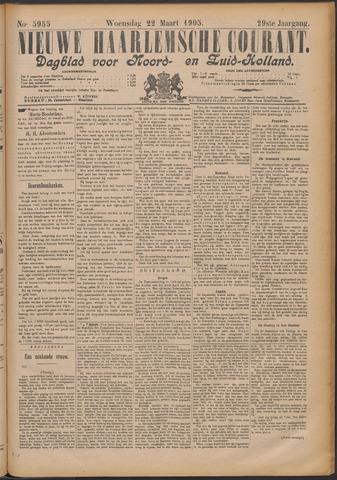 Nieuwe Haarlemsche Courant 1905-03-22