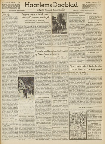Haarlem's Dagblad 1950-09-08