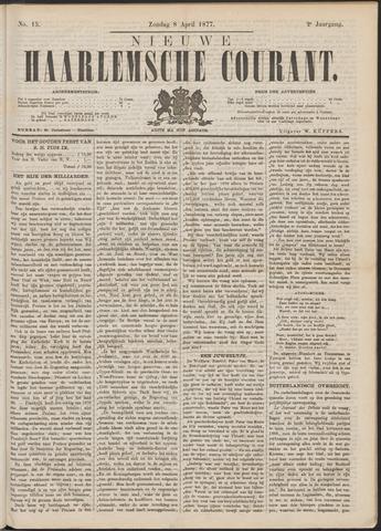 Nieuwe Haarlemsche Courant 1877-04-08