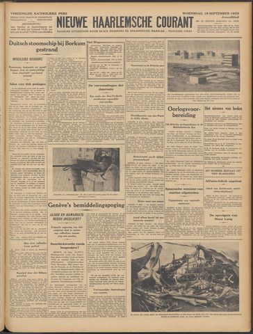 Nieuwe Haarlemsche Courant 1935-09-18