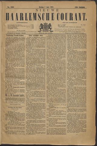 Nieuwe Haarlemsche Courant 1891-06-07