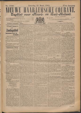 Nieuwe Haarlemsche Courant 1903-03-21
