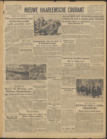 Nieuwe Haarlemsche Courant 1950-10-02