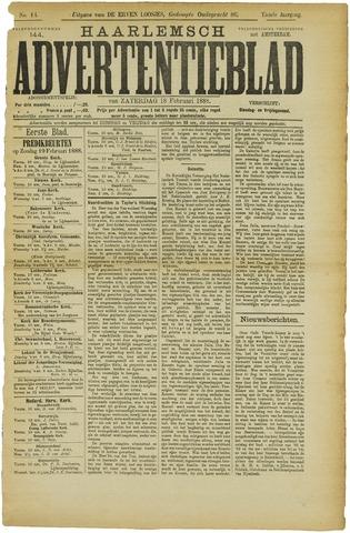 Haarlemsch Advertentieblad 1888-02-18