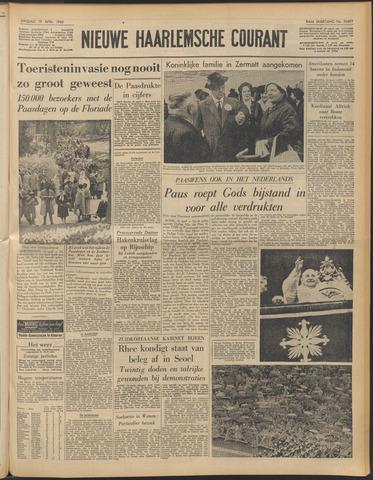 Nieuwe Haarlemsche Courant 1960-04-19