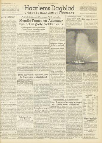 Haarlem's Dagblad 1954-10-20