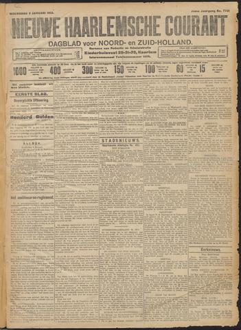 Nieuwe Haarlemsche Courant 1912