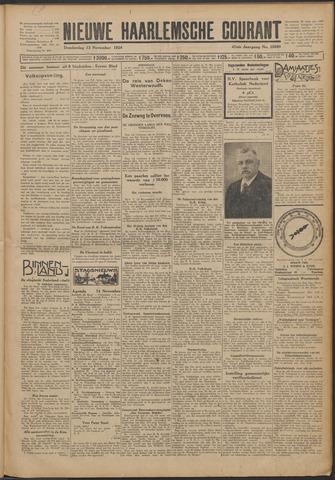 Nieuwe Haarlemsche Courant 1924-11-13