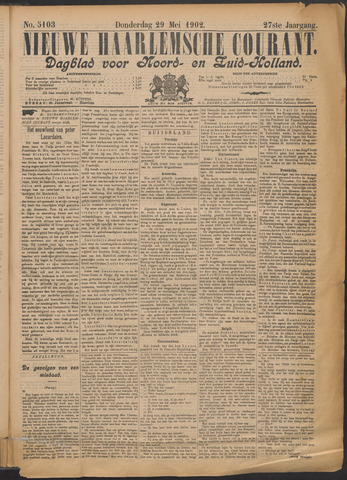 Nieuwe Haarlemsche Courant 1902-05-29