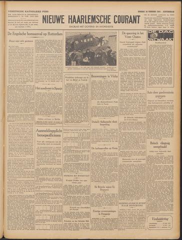 Nieuwe Haarlemsche Courant 1941-02-18