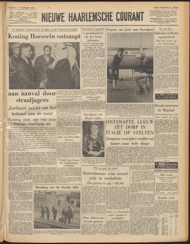 Nieuwe Haarlemsche Courant 1958-11-11