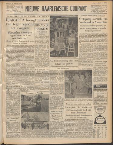 Nieuwe Haarlemsche Courant 1958-02-24