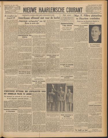 Nieuwe Haarlemsche Courant 1950-07-24