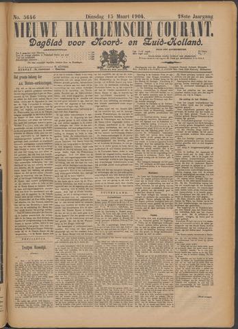 Nieuwe Haarlemsche Courant 1904-03-15