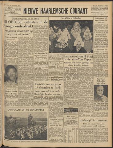 Nieuwe Haarlemsche Courant 1959-11-02