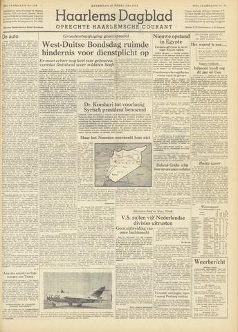 Haarlem's Dagblad 1954-02-27