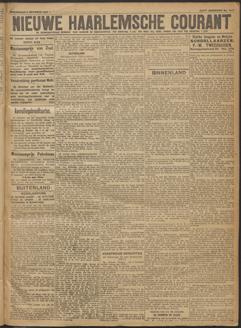 Nieuwe Haarlemsche Courant 1917-10-03