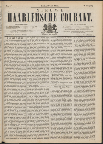 Nieuwe Haarlemsche Courant 1877-07-29
