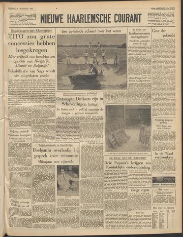 Nieuwe Haarlemsche Courant 1957-08-06