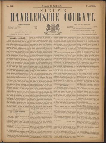 Nieuwe Haarlemsche Courant 1878-04-24