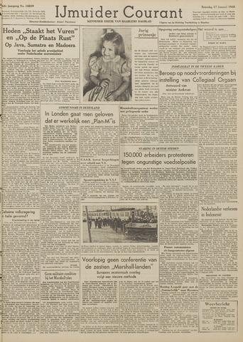 IJmuider Courant 1948-01-17