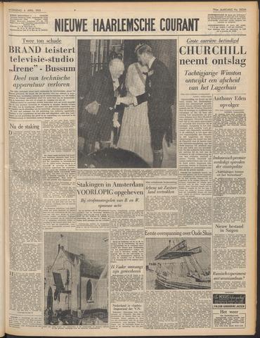Nieuwe Haarlemsche Courant 1955-04-06